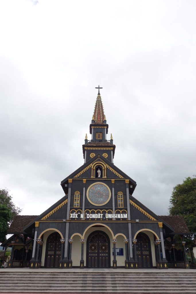 Kon Tum wooden church
