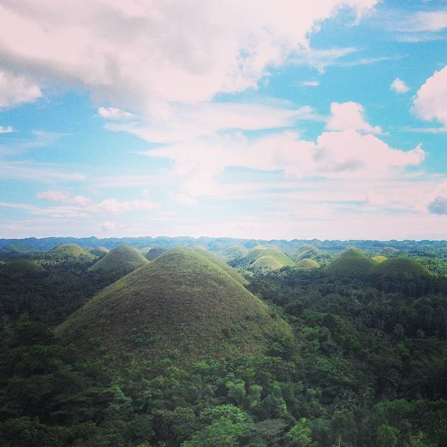 Chocalate Hills, Bohol tourist spots, Philippines