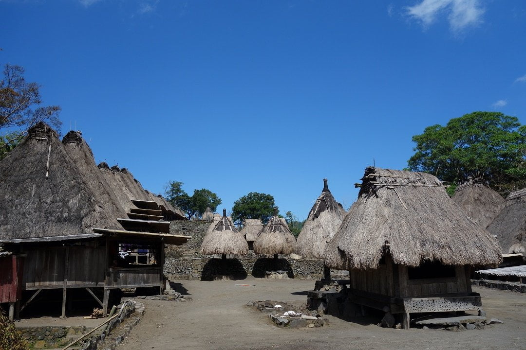 Ngada village, bajawa, flores, indonesia