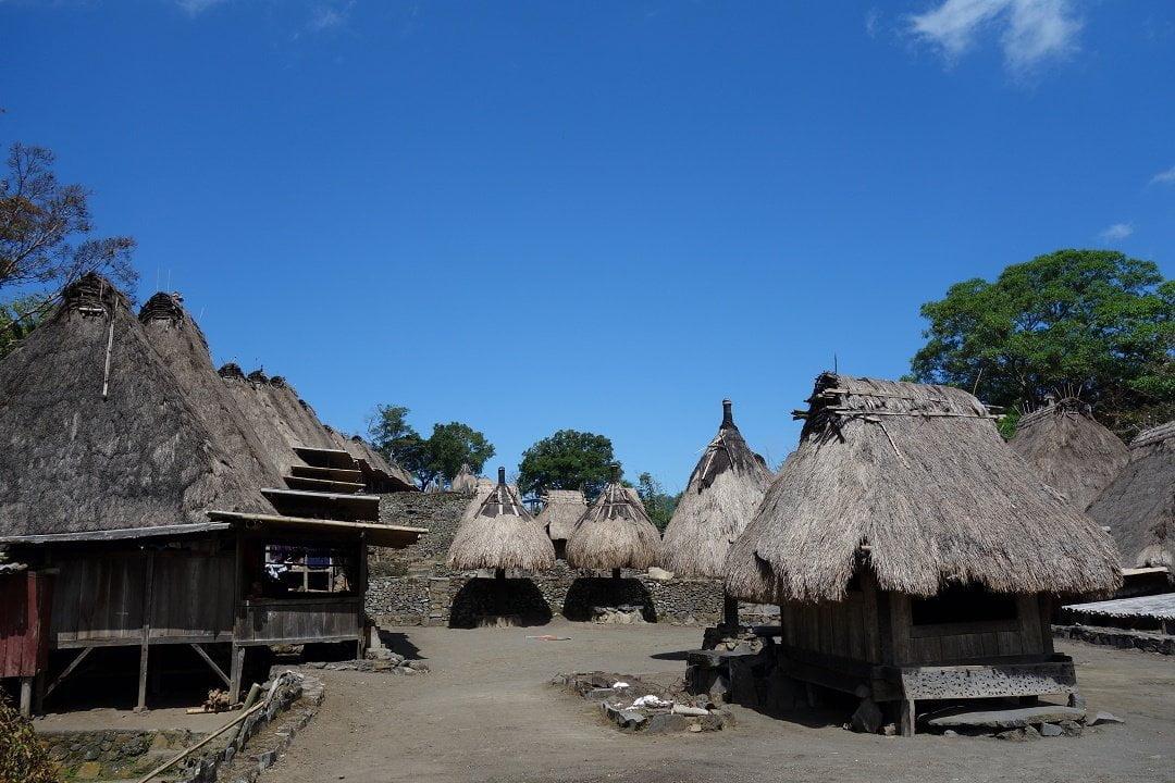 Ngada village, bajawa, flores, indonesia