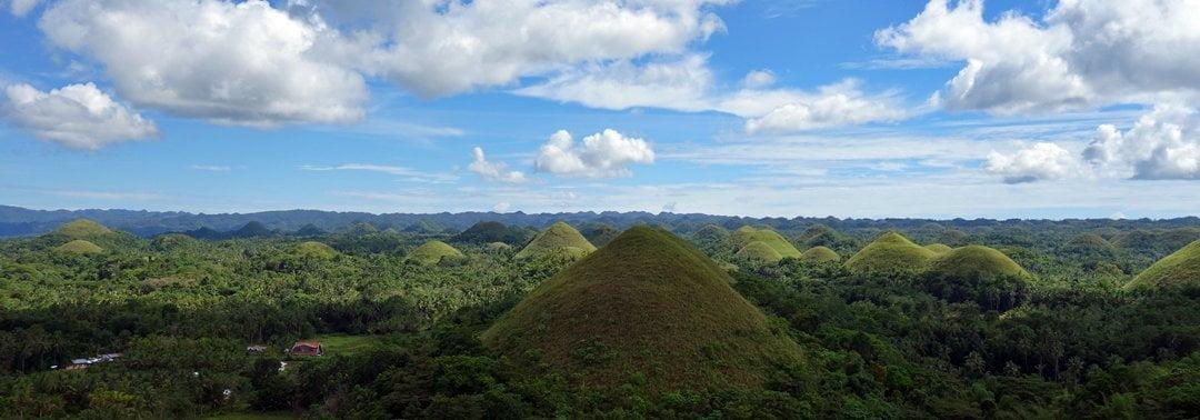 Bohol Tourist spots - Chocolate Hill, Philippines