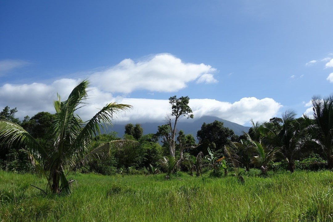 Begining of the trek to Mount Guiting-Guiting