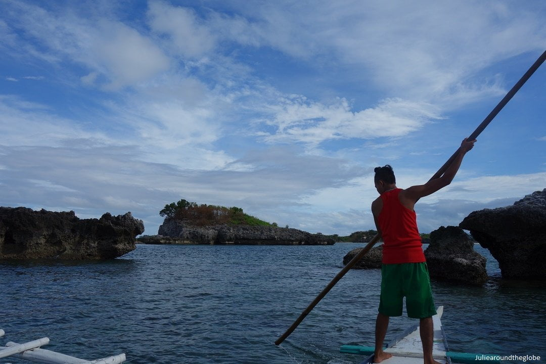 Boat ride in Malapascua, Philippines