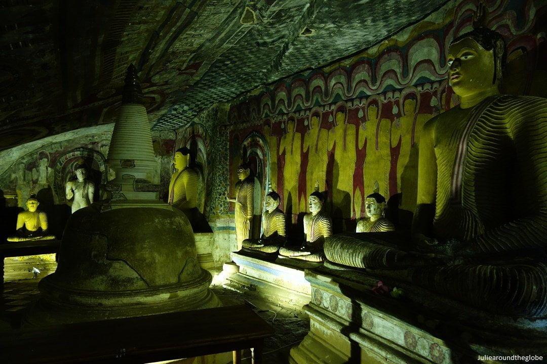 Dambulla caves, SrI Lanka