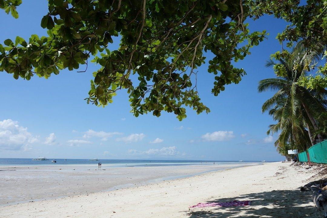 Dumaluan beach, Panglao, Bohol, Philippines
