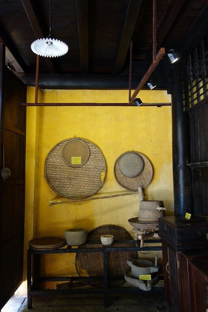 Inside a traditional house, Hoi An, Vietnam