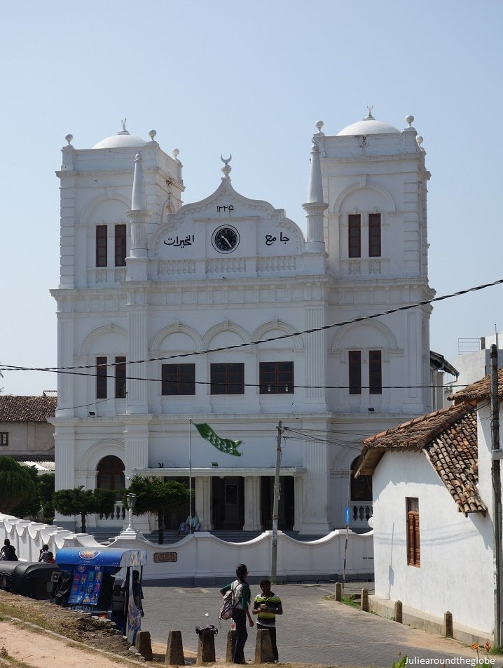 Meera mosque, places to visit in Galle, Sri Lanka