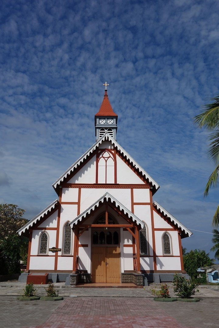 Portuguese Church, Sikka, Flores, Indonesia