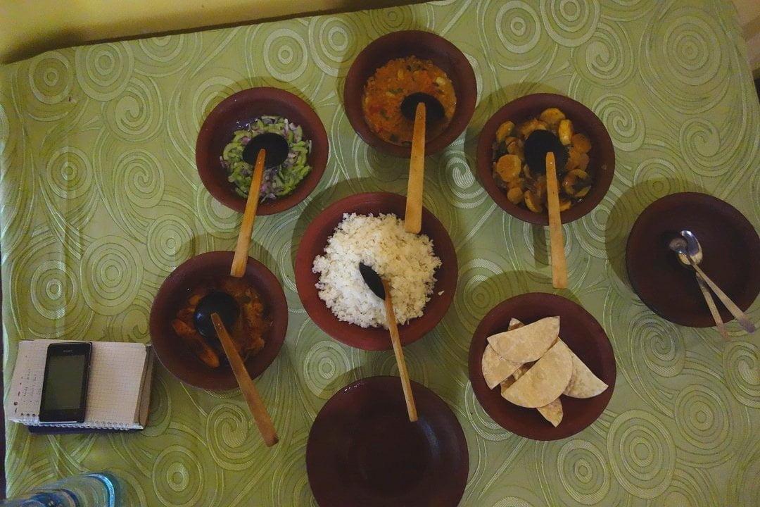 Rice and curry, Sri Lanka