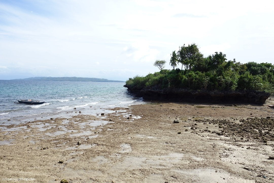 Rocky beach in Poro, Camotes island itinerary, Philippines