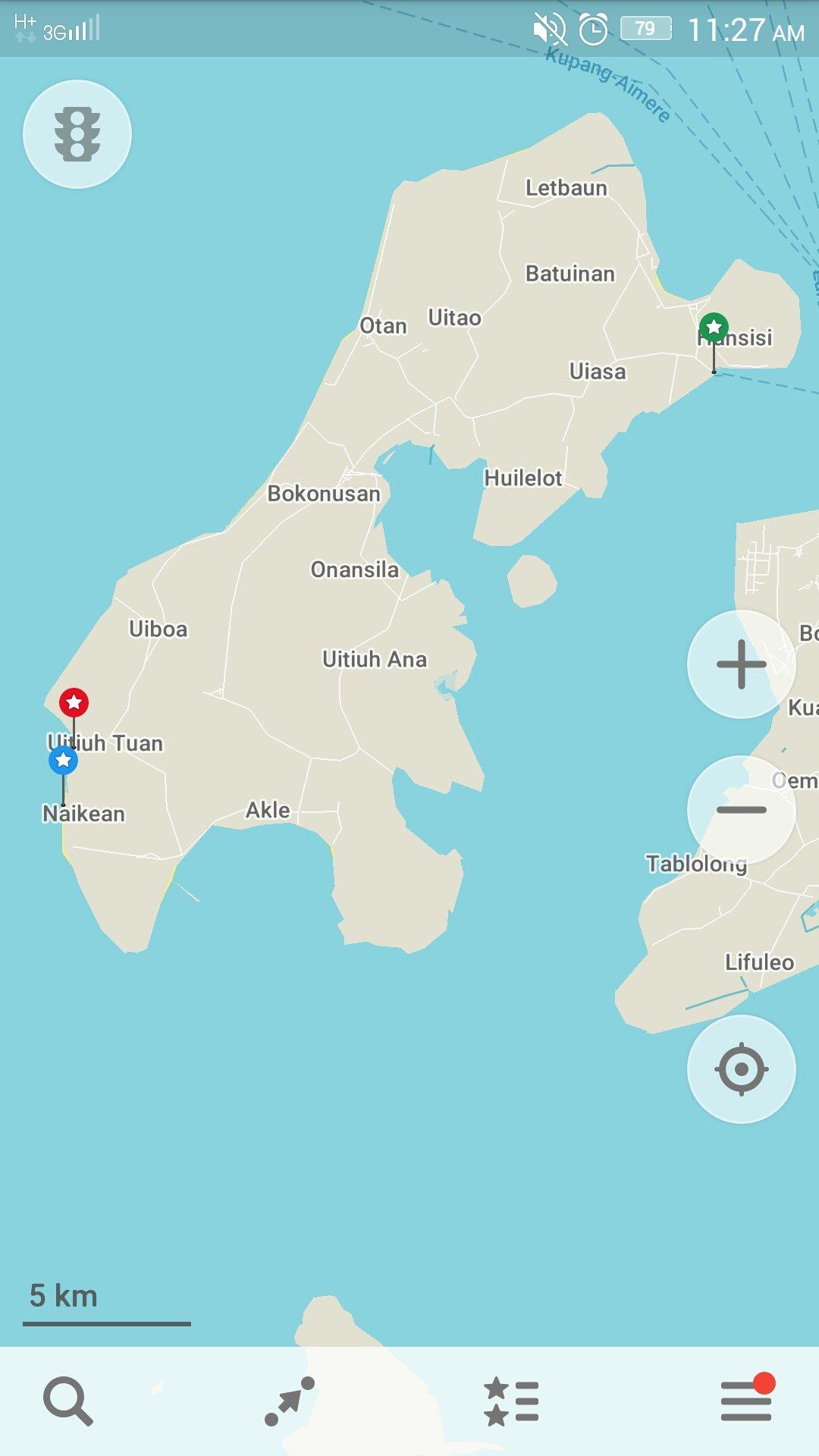 map, timor