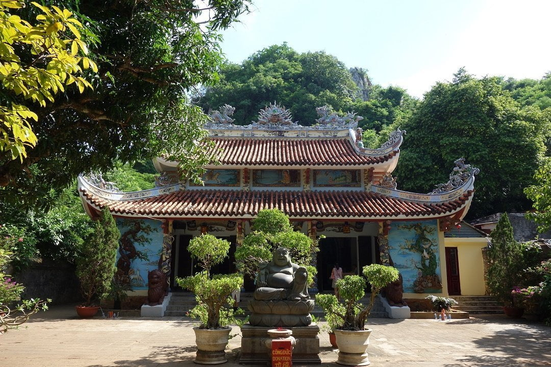 Temple in Marble Mountain