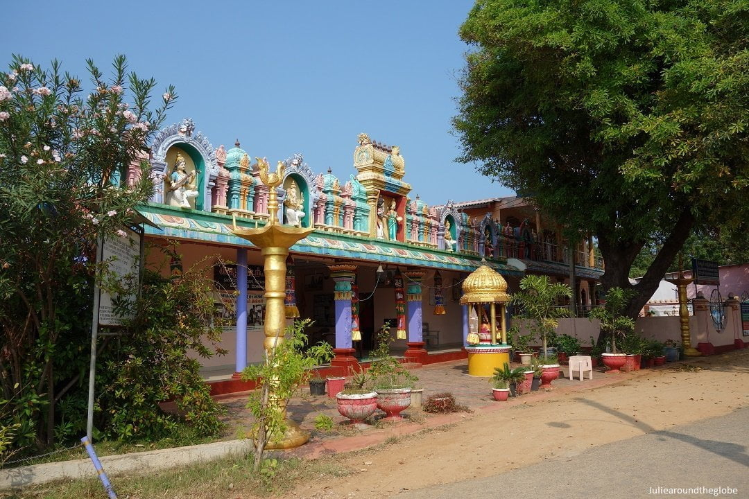 Temple near Keerimalai Spings, Jaffna places to visit, Sri Lanka