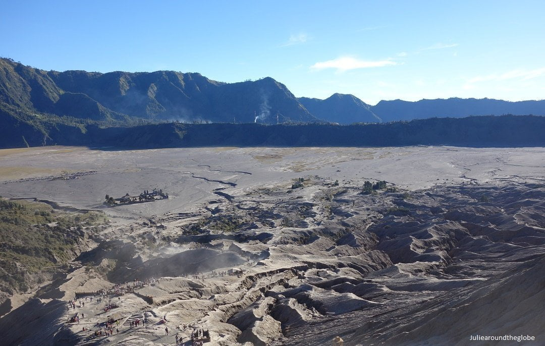 View from Bromo's crater, Java, Indonesia