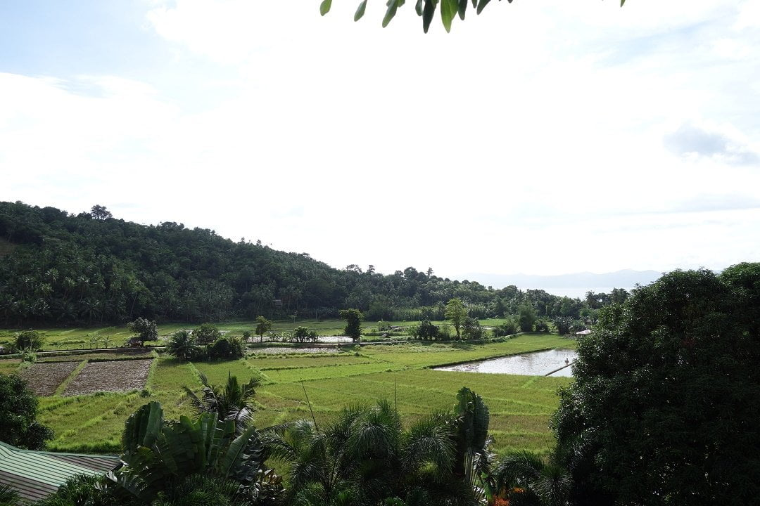 View from my hotel room Romblon Island Dream Paradise