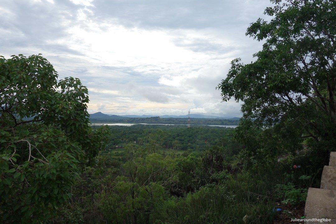 View from the top, Dambulla, Sri Lanka