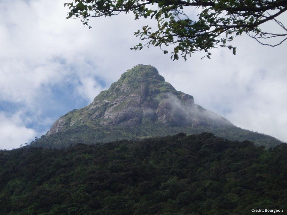 Climbing Adam's peak, Sri Lanka