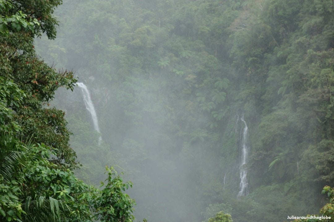 Oro twin falls, Kanlaon Natural Park, Negros, Philippines