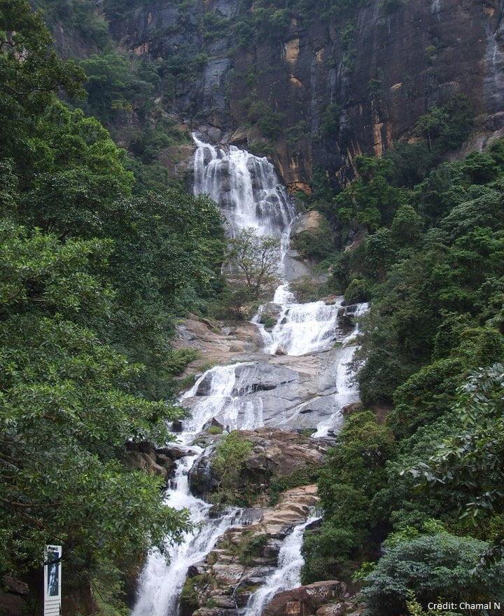 Rawana Falls, things to do in Ella, Sri Lanka