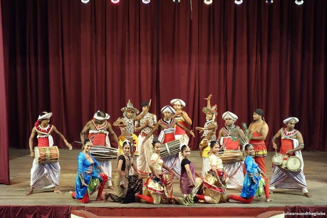 Traditional dance show, Kandy, Sri Lanka