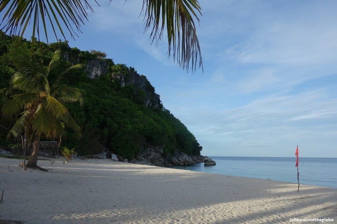 Antonia Beach, Isla Gigantes, Iloilo, Philipinnes