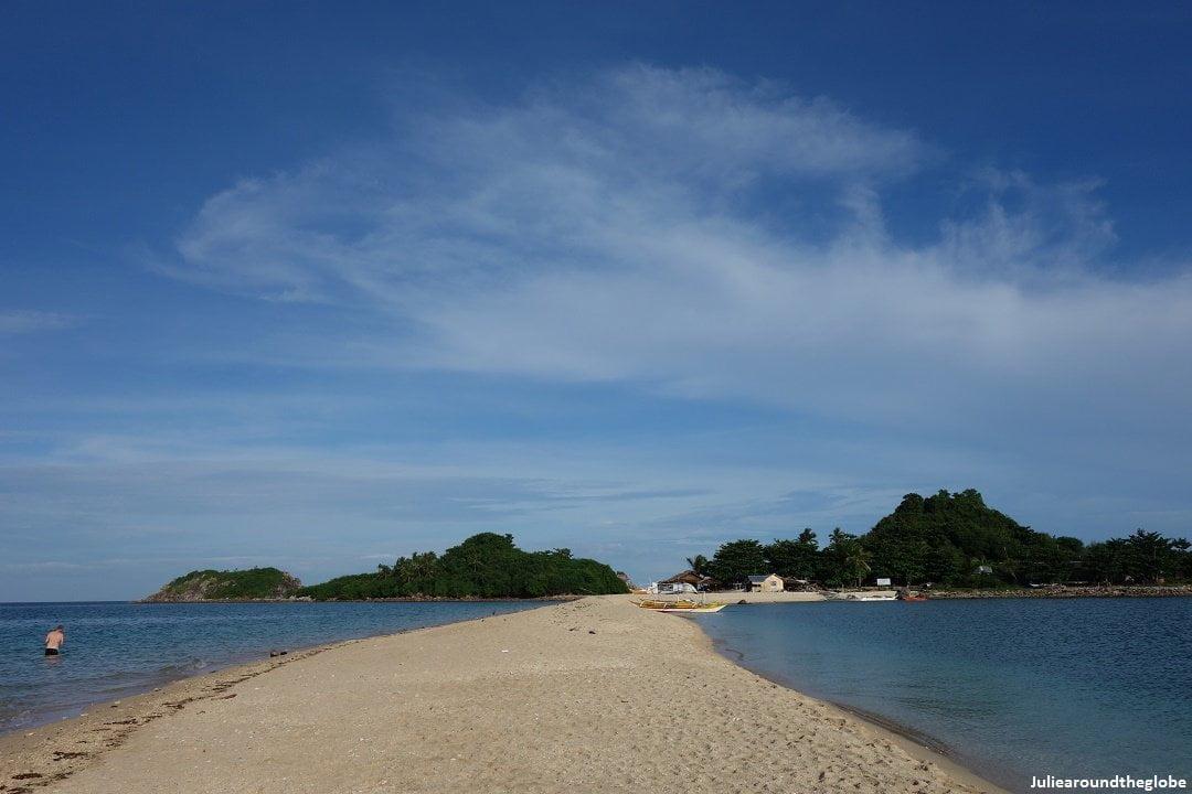 Bantigue sandbar, Isla gigantes, Iloilo, Philippines