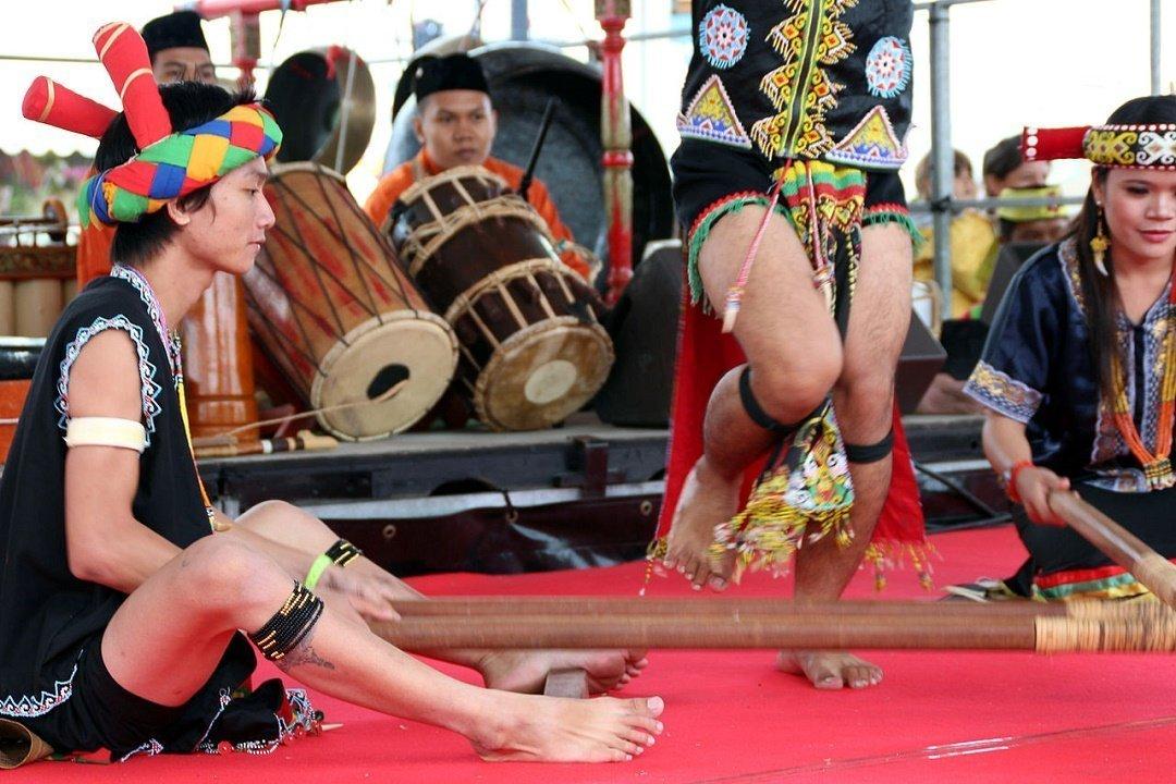 Dayak celebration
