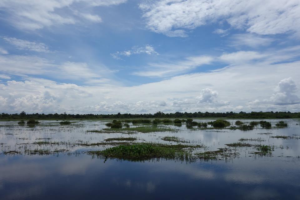 Mahakam river, kalimantan, Indonesia