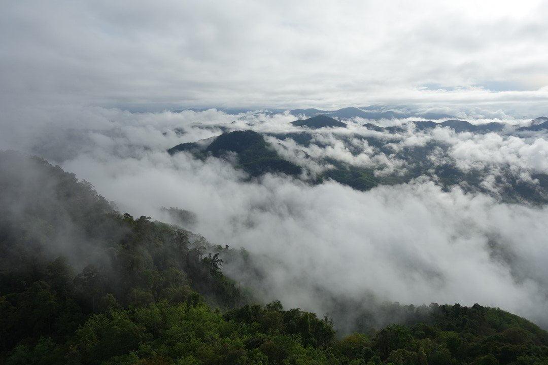 Betong - sea of clouds
