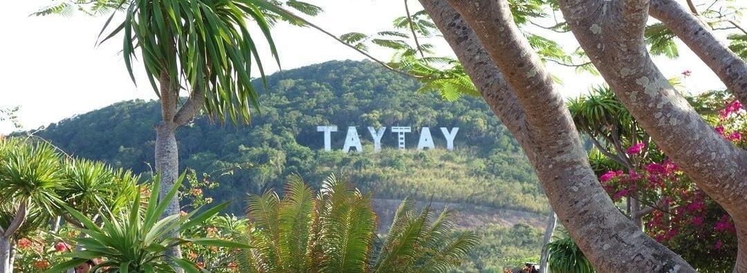 Taytay sign
