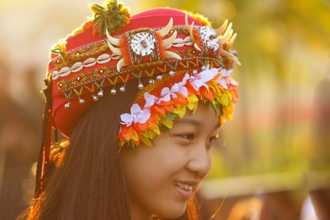 Aboriginal girl, Taiwan