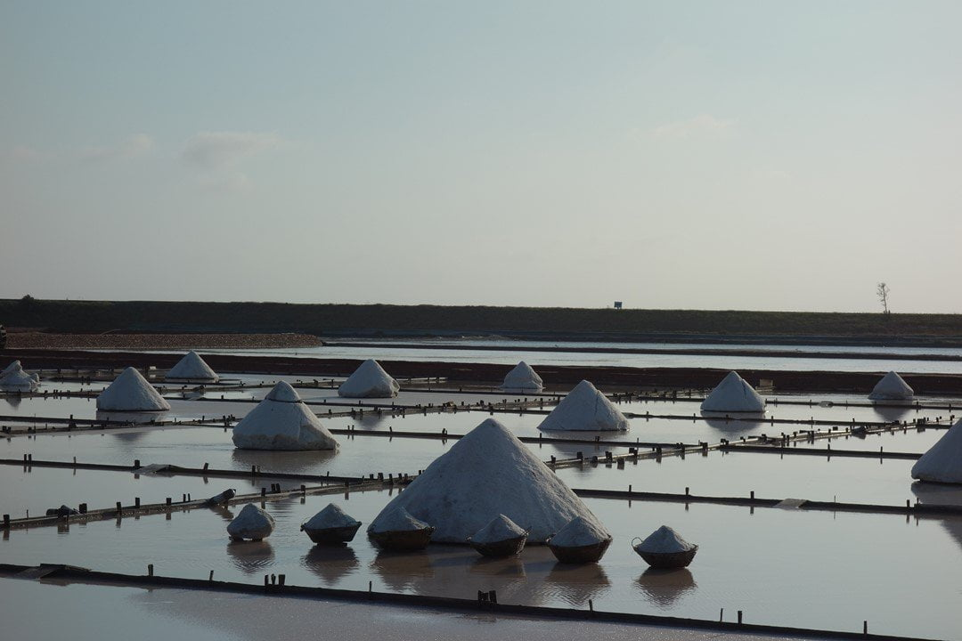 Jingzijiao Tile-paved Salt Fields, what to do in Tainan, Taiwan