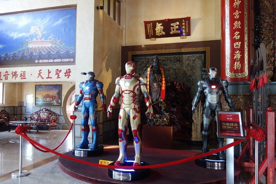 Longshan Temple, what to do in Tainan, Taiwan