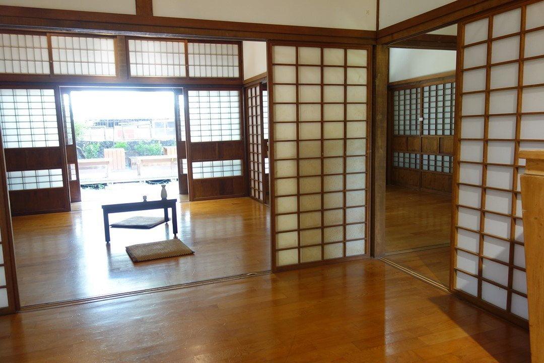 Inside a traditional Japanese house, Tainan, Taiwan