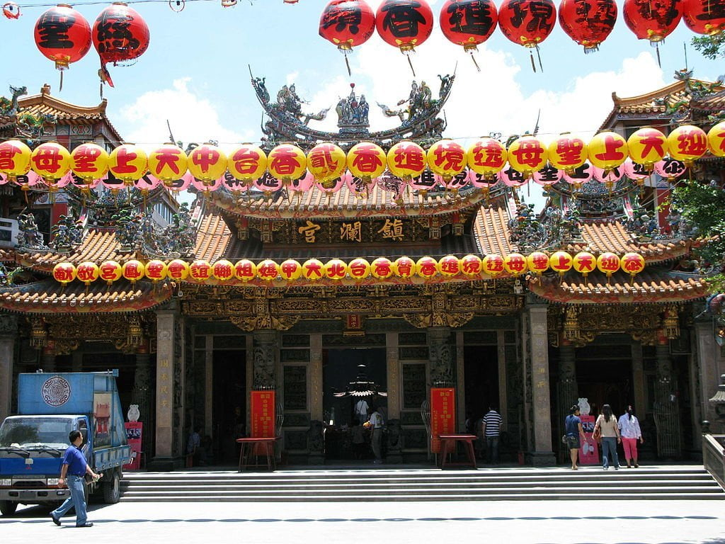 Dajia Jenn Lann Temple, things to do in Taichung, Taiwan