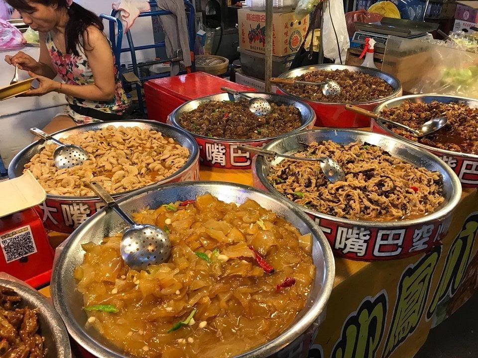 Night market, Taiwan