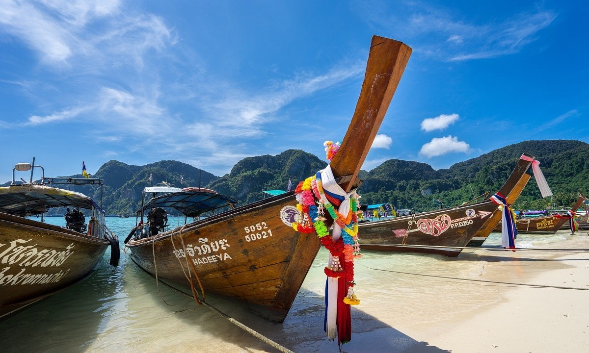 Thailand, boat