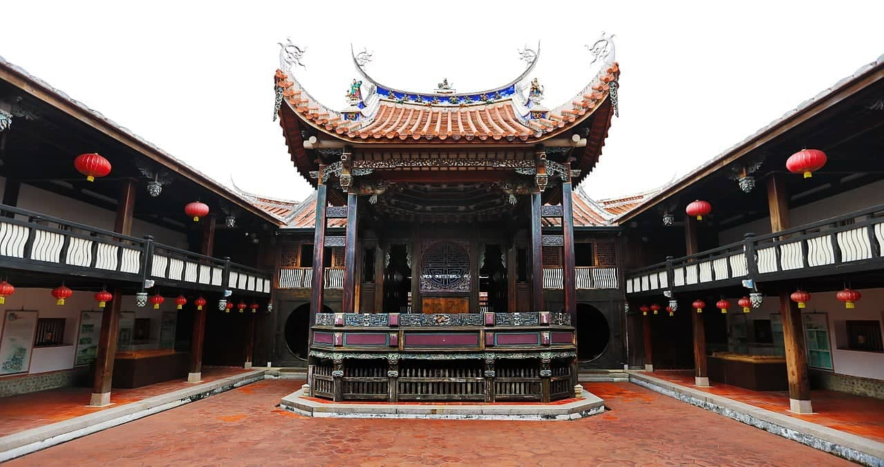 Wufeng Lin family house, things to do in Taichung, Taiwan