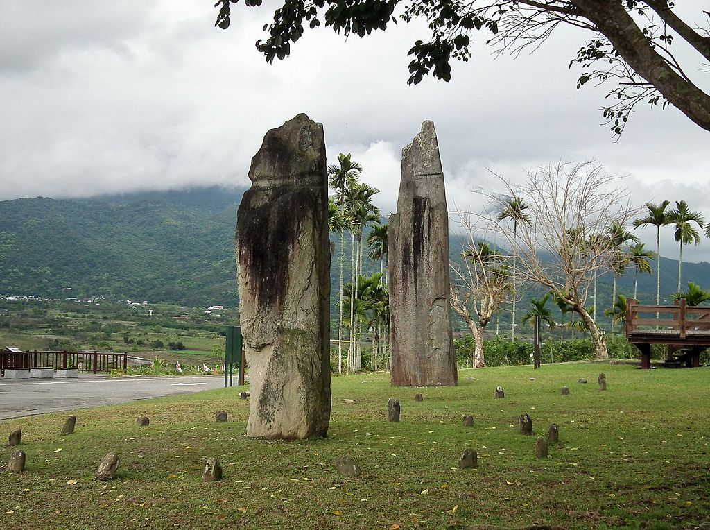 Saoba Monoliths,Satokoay Historical Site, hualien, Taiwan