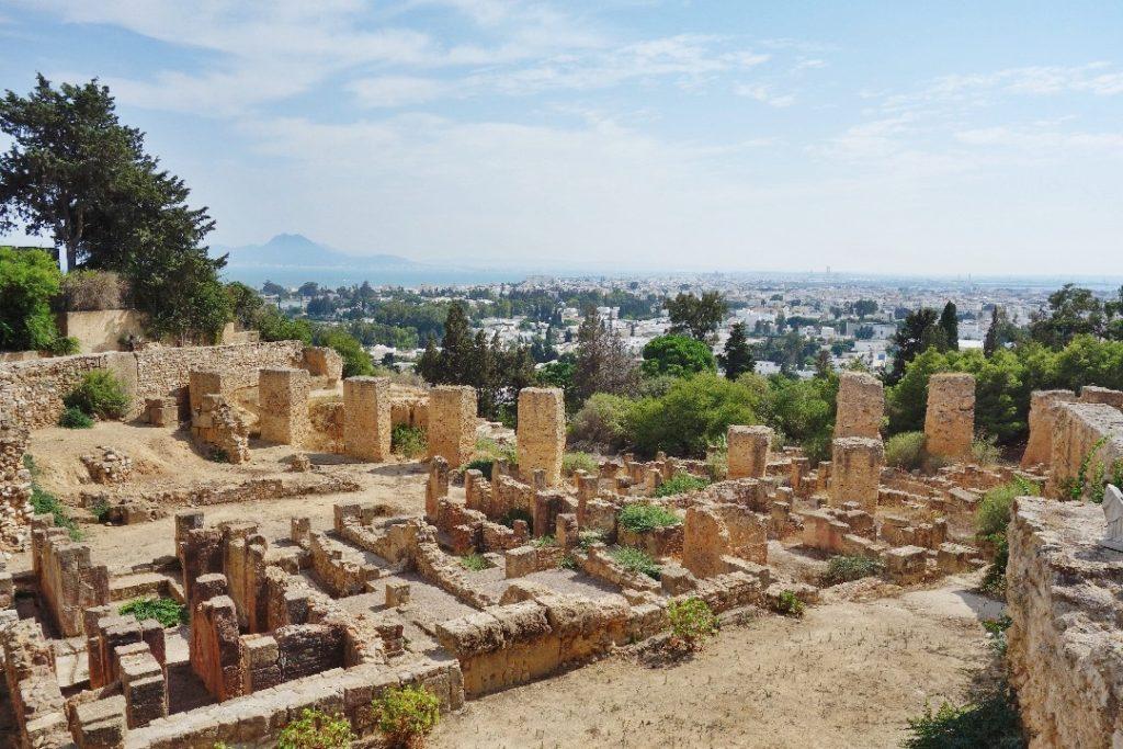 Byrsa quarter, Carthage, UNESCO Tunisia