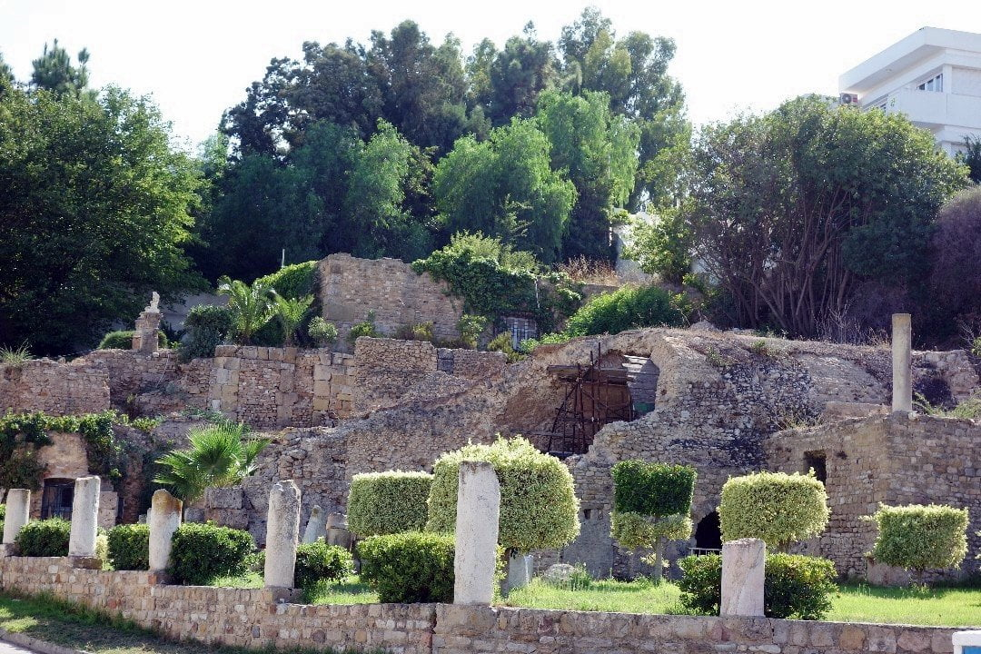 Water system, Carthage, Tunisia 3