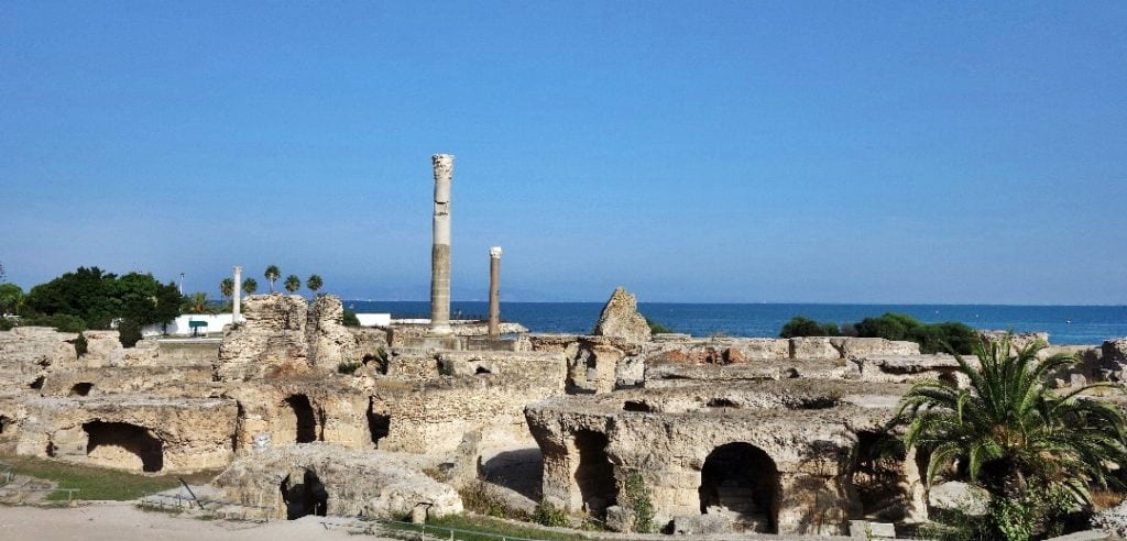 Antonine Baths, Carthage, Tunisia