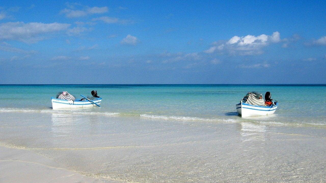 Beach Monastir, Tunisia