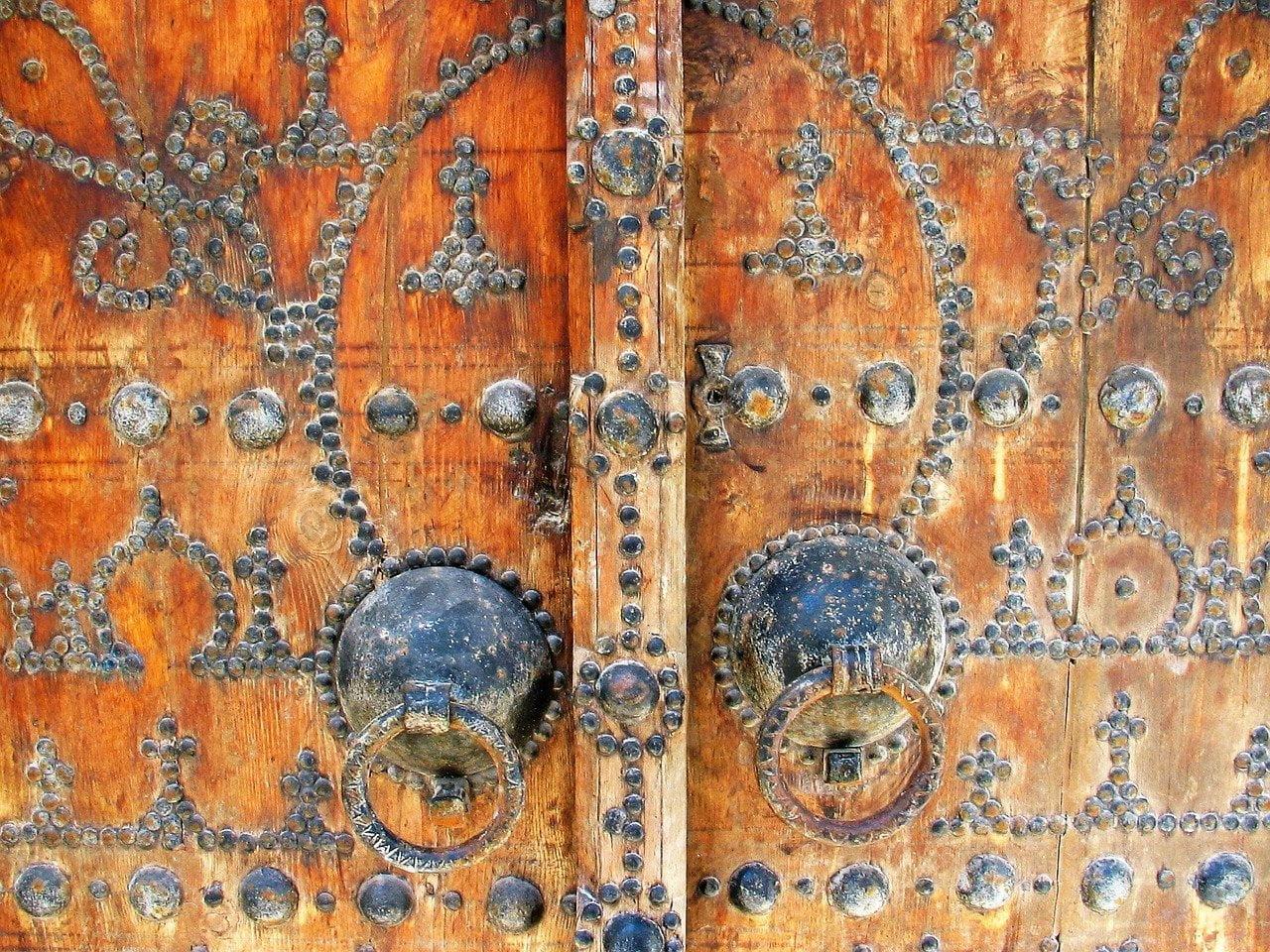 Door, Lamta, Tunisia