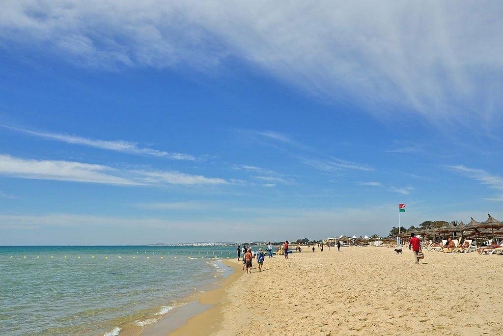 Beach, Hammamet, Cap Bon, Tunisia