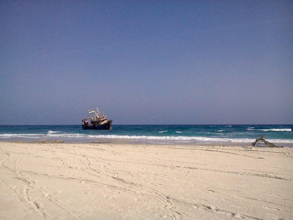 Mansoura beach, Kelibia , Cap Bon, Tunisia