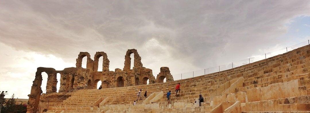 Roman ruins in Tunisia  – A walk through time