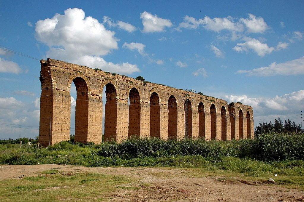 Zaghouan, Roman ruins in Tunisia