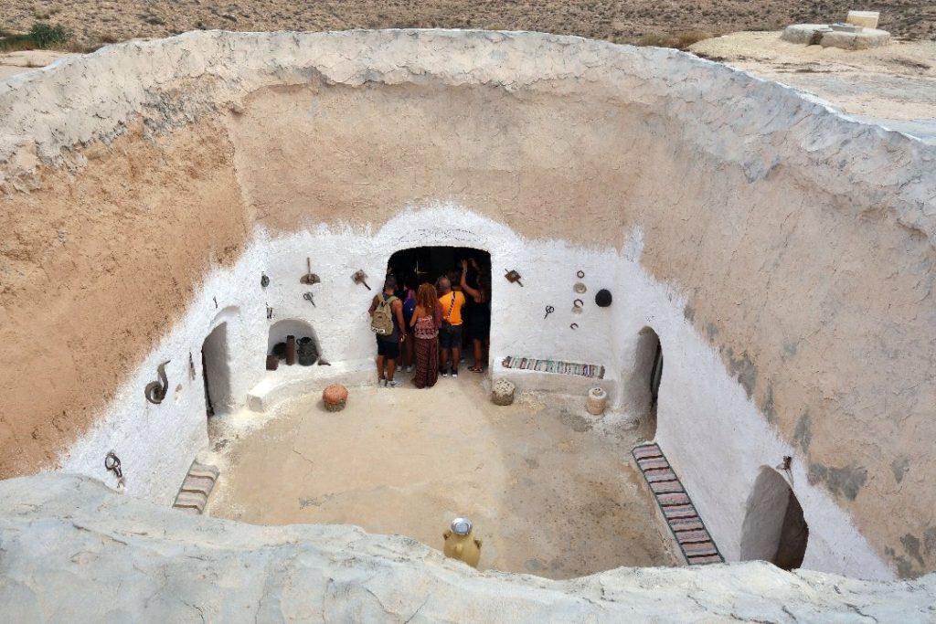 Troglodyte house, Matmata, Tunisia