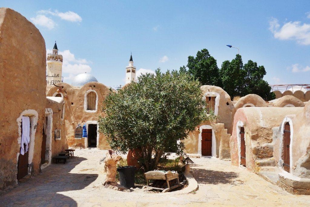 Haddada, troglodyte village, Tunisia